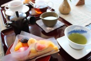キルフェボンと川根茶