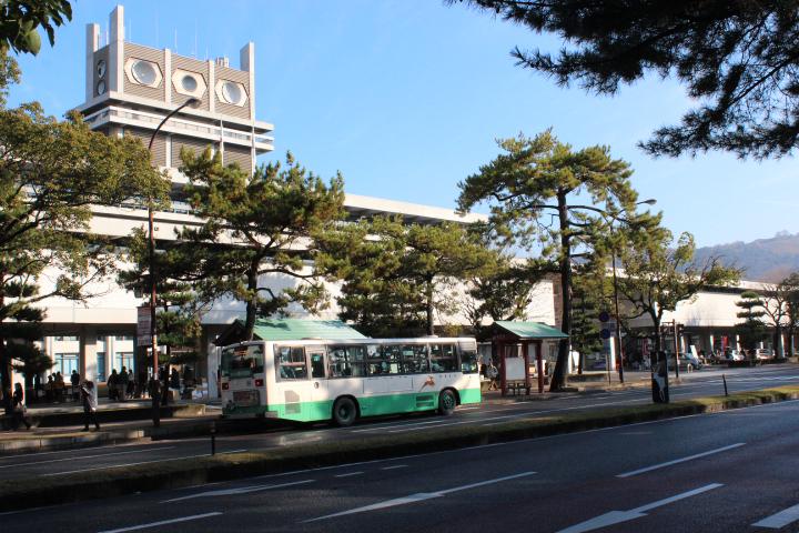 奈良県庁回廊