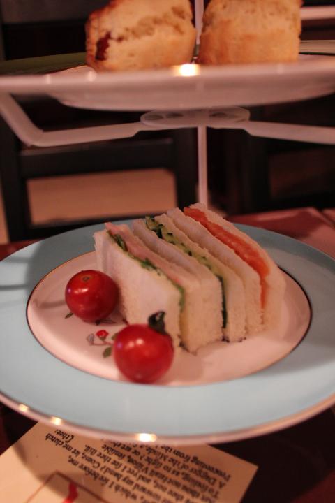 シェクスピアティーハウス サンドイッチ