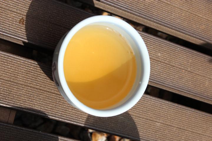温かい阿波晩茶