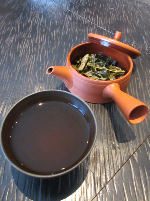 寒茶1煎め