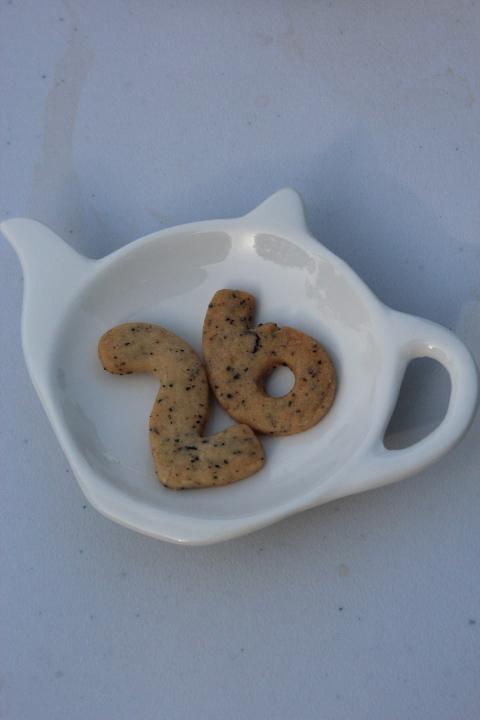 茶葉を練り込んだ26クッキー
