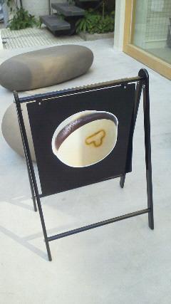 TORAYA CAFE 看板