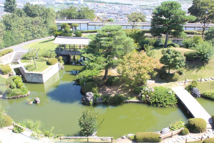 ミュージアムの庭園2