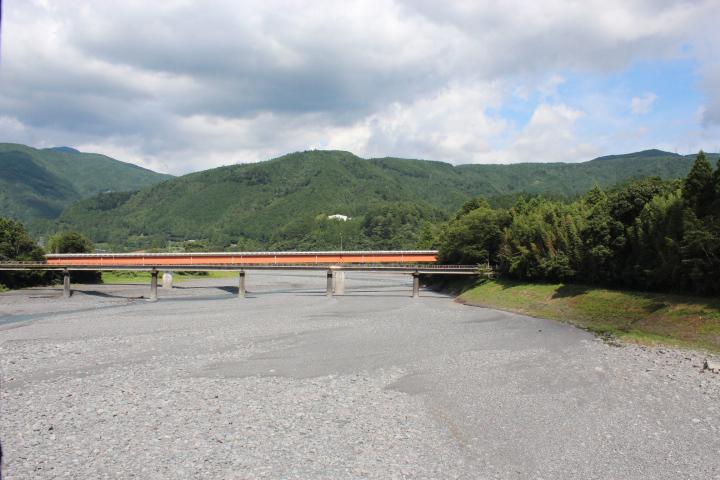 大井川鉄道からの眺め