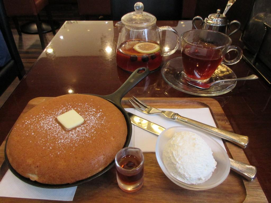 ロイヤルミルクティーパンケーキ