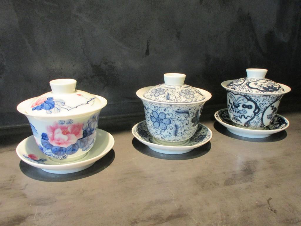 3つの蓋碗