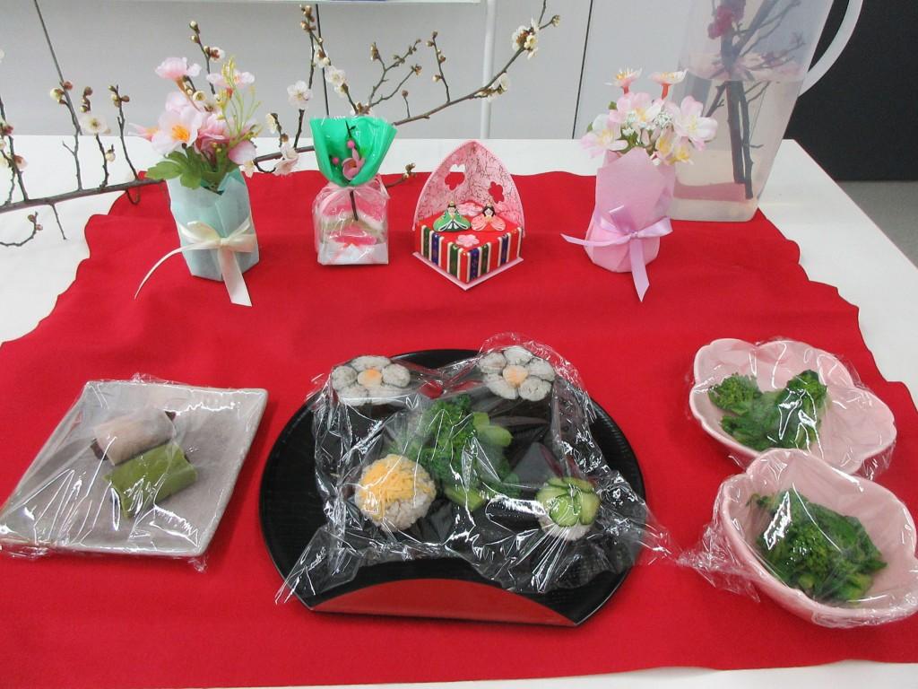 見本 飾り寿司