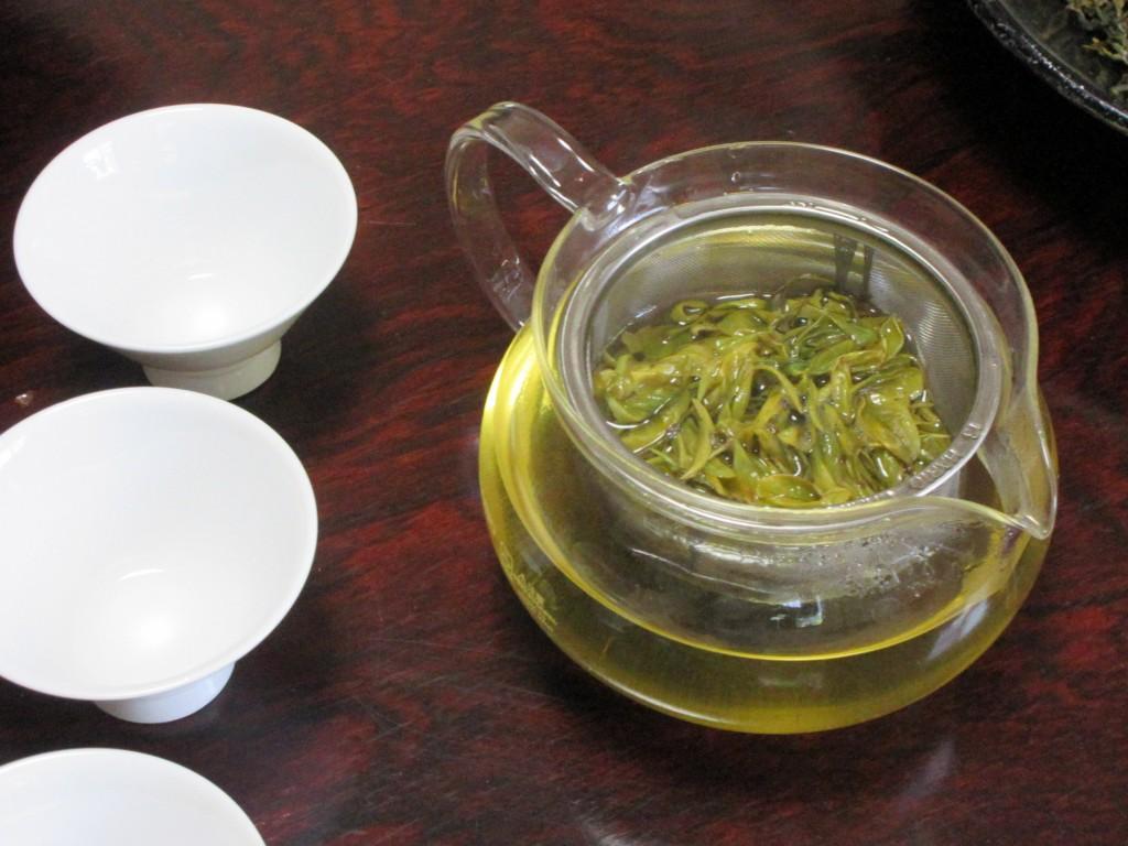 突然変異の茶葉