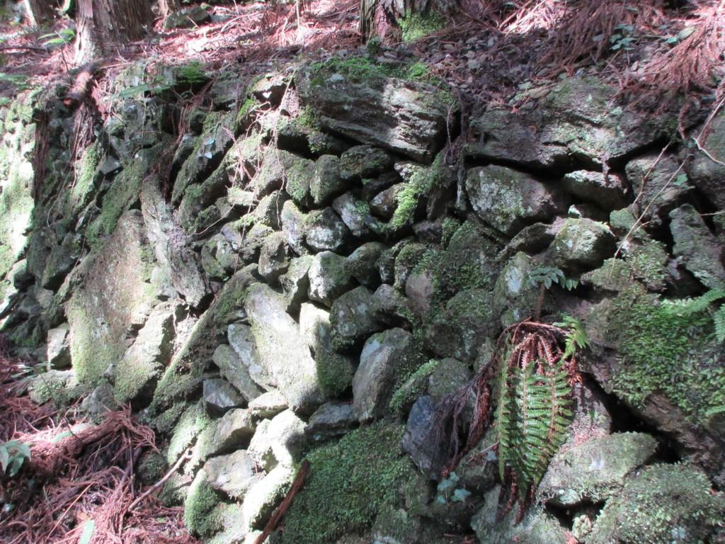 石積みの壁