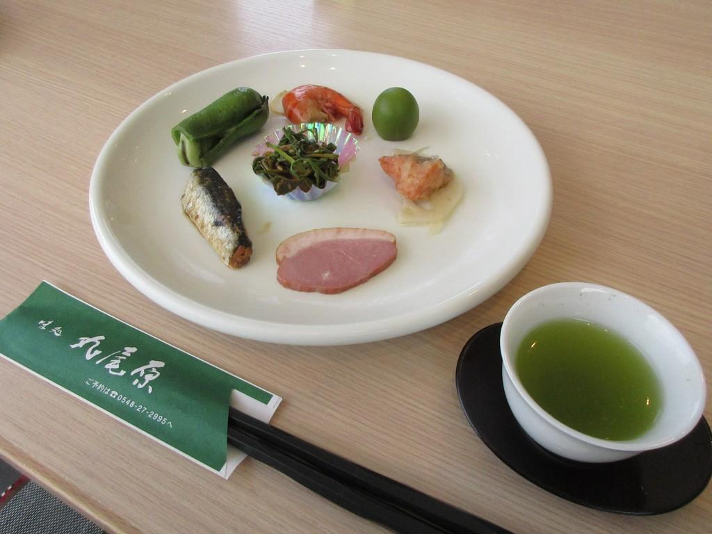 茶姫膳 前菜