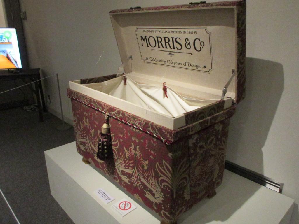 ウィリアムモリスの茶箱