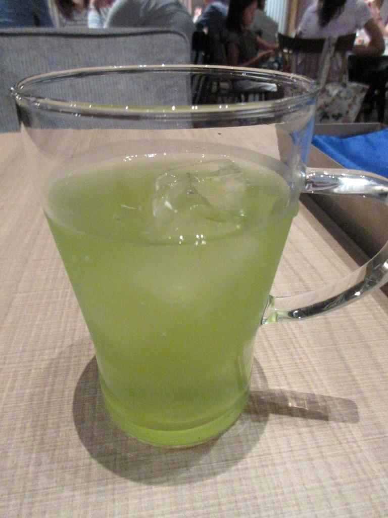 日本茶バー アップルレモン玄米茶
