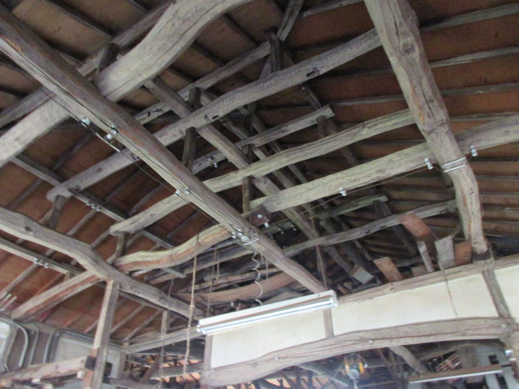 鈴木園 茶工場 屋根