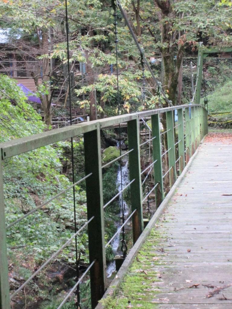 2019.10.27 ひのはら紅茶を楽しむ会2019 下日向橋から見える滝