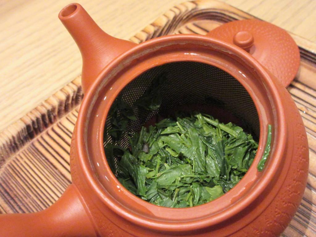 右近の桜 茶殻