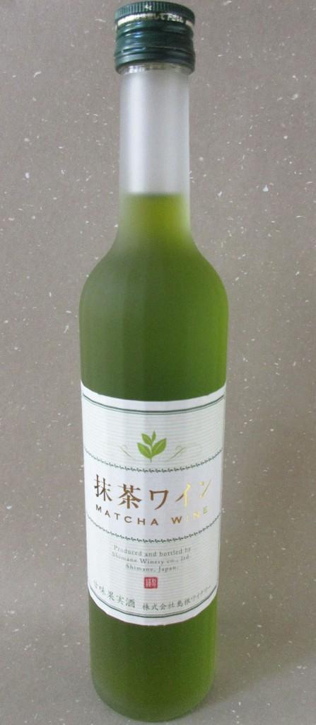 抹茶ワイン 島根産