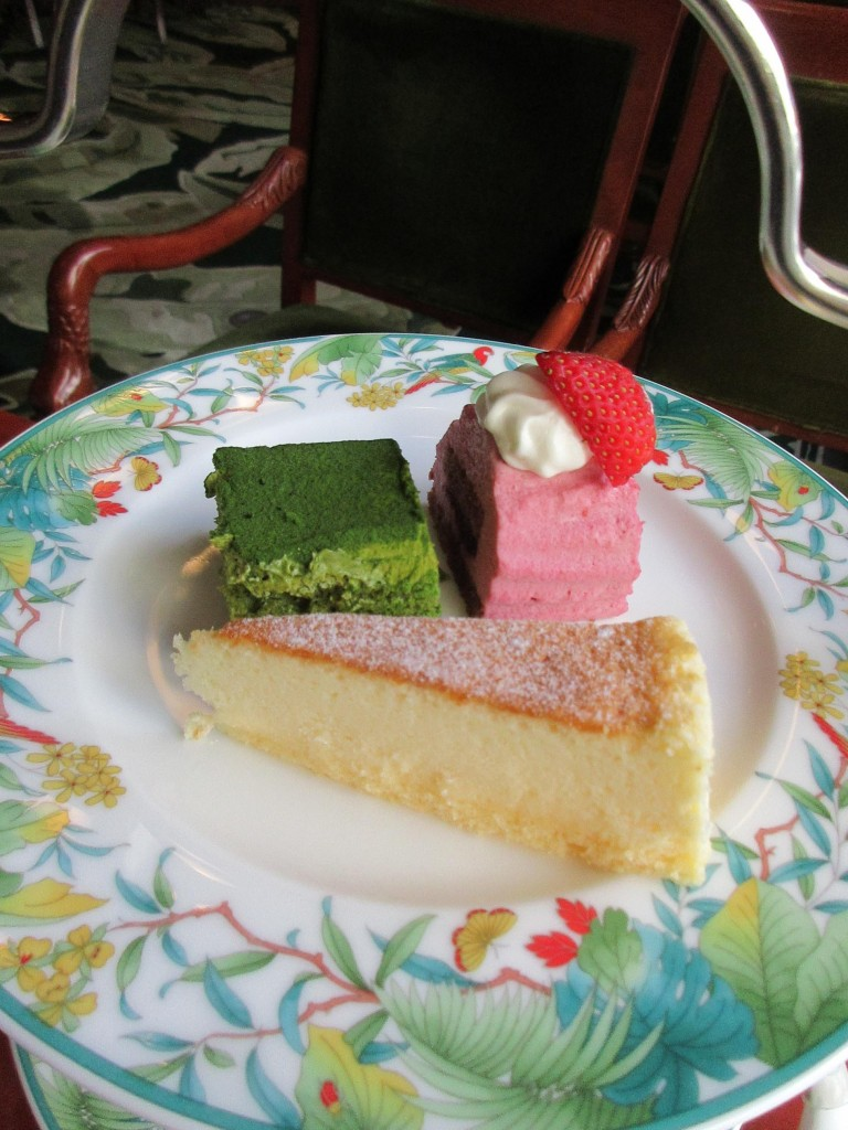 3種のプティケーキ
