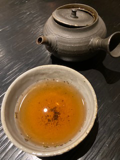 碾茶茎ほうじ茶 1煎め