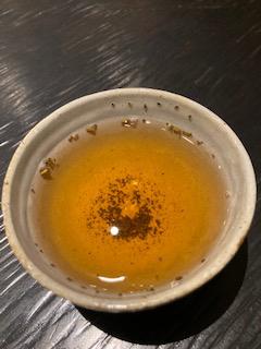 碾茶の茎焙じ茶 2煎め