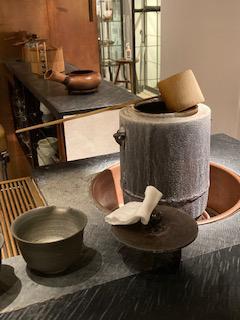 櫻井焙茶研究所の釜