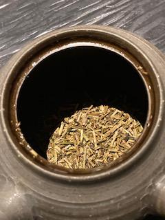 碾茶茎焙じ茶リーフ