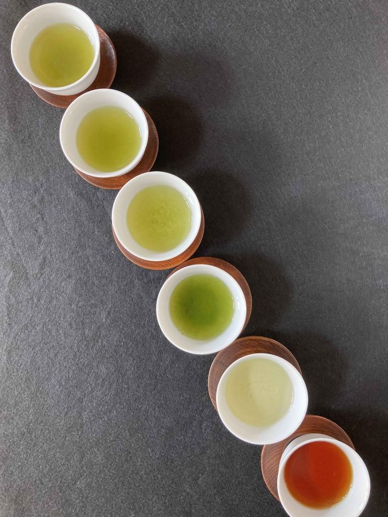 鹿児島6種 湯飲み2