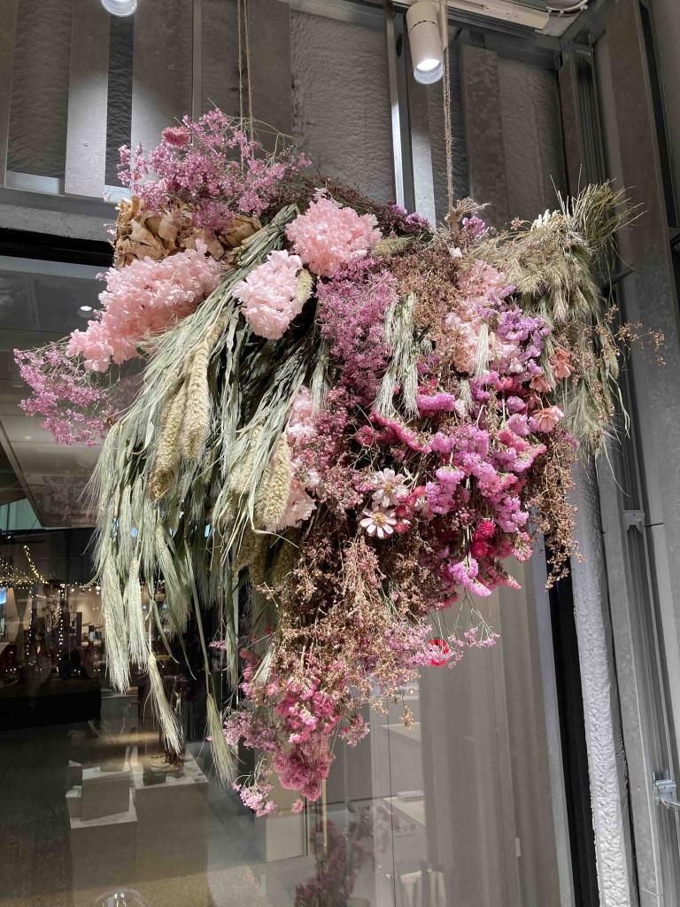 iittala店内の花