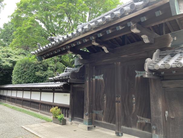 斎田記念館 門