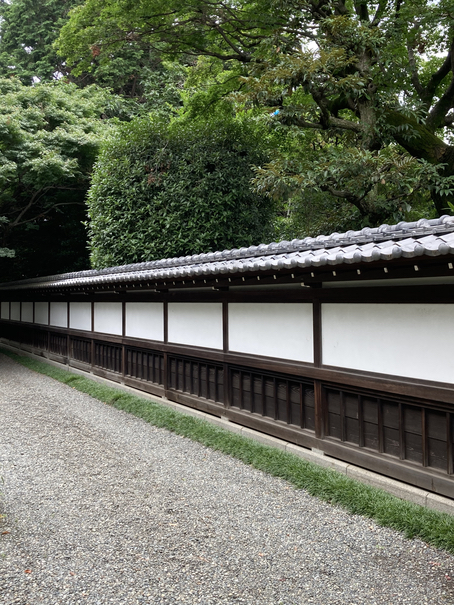 斎田記念館 壁