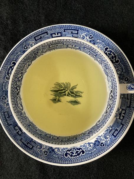 ドリップ式釜炒り茶 W.W.ウイローパターン