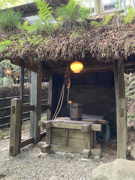 井戸 黒茶屋